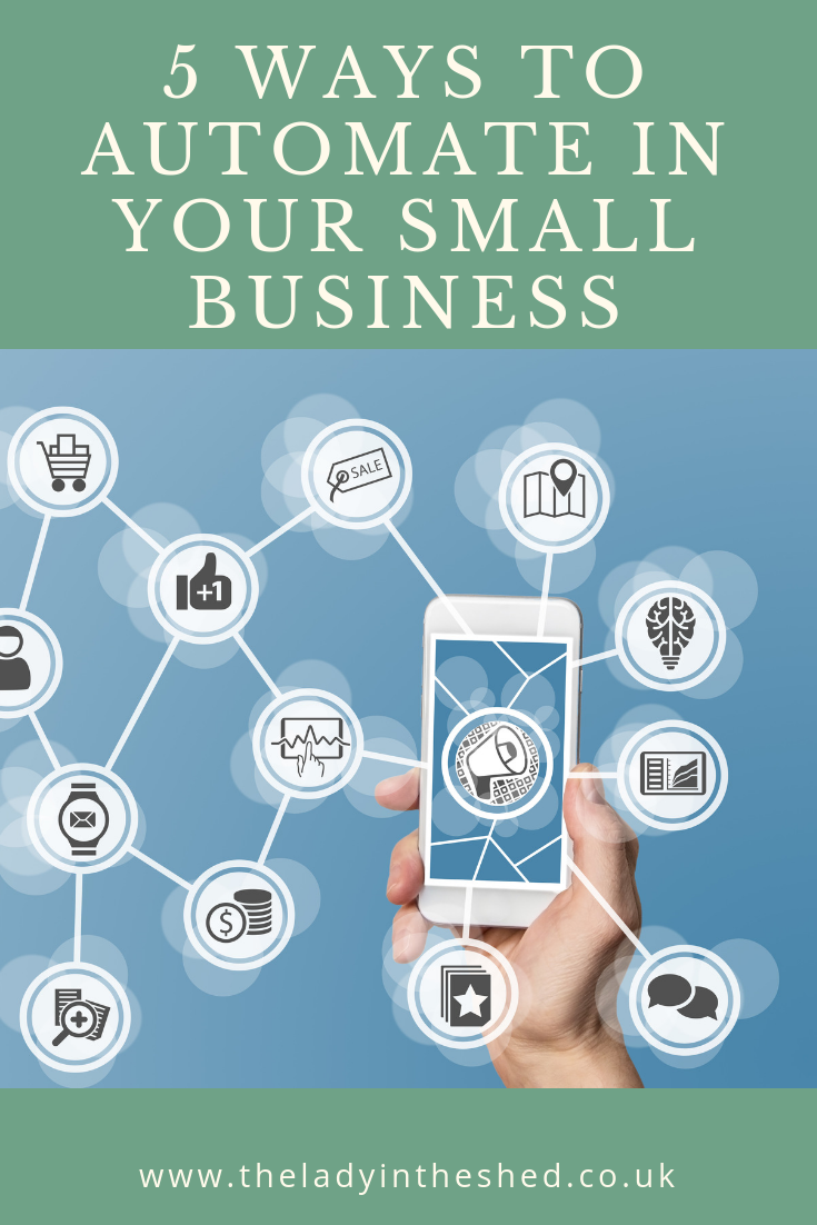 5 ways to automate in your small business